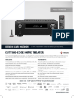 Denon AVR-X6500H Info