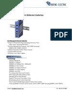 Bueno IEC 61850 3 Ethernet Switch