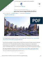 O Custo Humano Trágico Das Novas Megacidades Da África _ ArchDaily Brasil