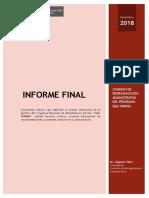 Informe Final Comision Reorganizacion Administrativa