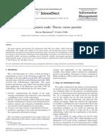 AUDIT - Information Audit Theory vs Practice