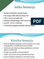 Klinička farmacija