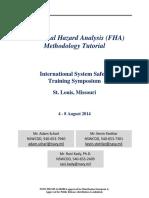 Functional Hazard Analysis Common Process