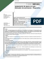 NBR 08845 - 2000 - Rebocador de Aeronaves