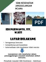 Disaster ManajSDM Huntara Dapur Umum dan Logistik.pptx