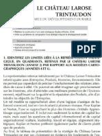 Le château Larose Trintaudon - LA CARTE DU DÉVELOPPEMENT DURABLE