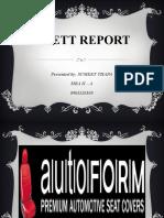 3 Cett Report