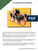 Filtro pasa bajos para subwofer.pdf