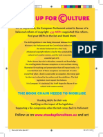 Stand Up for Culture Flyer 148 x 210