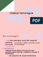 Curs 26 - Diateze Hemoragice
