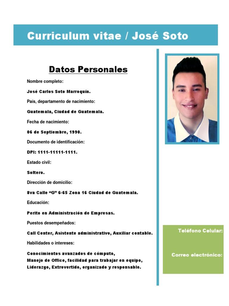 Curriculum Vitae Docx