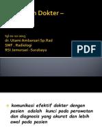Hubungan Dokter _ Pasien, 01-12-2015,fix.ppt