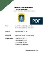 Clasificacion Del Macizo Rocoso