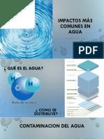 Ingenieria Ambiental Ucsm Contaminación de Agua