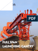 Full Span Launching Gantry Introduction and Project Huada Heavy Industry China Supplier and Manufacturer