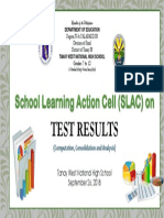 SLAC Test Result