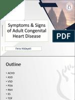 Sign Symptom Adultchd