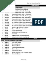 Entrees Cost Price List 2018 3.xlsx