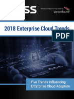 2018 Enterprise Cloud Trends Report