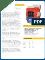 Barfield SC063 Specification Sheet