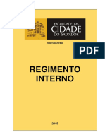 Regimento Interno Ftc Fcs -2014 (1)