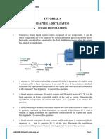 TUTORIAL 4_Flash Distillation
