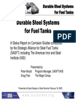 13 - Durable Steel Systems for Fuel Tanks