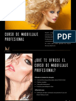 Brochure Curso de Maquillaje Profesional