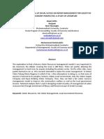 Kluster 2. HRM, Operation Management & Entrepreneruship