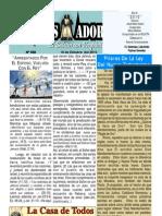 """2010-10-10 El conquistador Boletín Semanal de """"La Casa de Todos"""""""