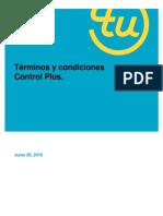 Term i Nosy Condiciones Control Plus