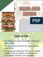 Fats&Lipids