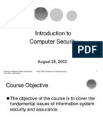 Lecture1 Computer Security