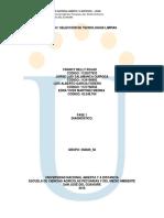 Diagnostico Empresarial Seleccion de Tecnologias Limpias