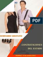 Curso Gratuito en Contrataciones El Estado - Huaraz