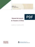 Manual Del Usuario de Tematres 3.0 Beta