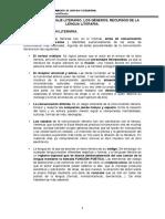 Tema 1 El Lenguaje Literario (1)
