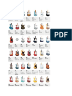 fender color chart.docx