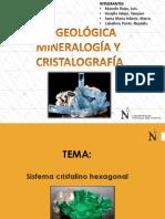 Informe Sistema Hexagonal Grupo4 Mineralogía