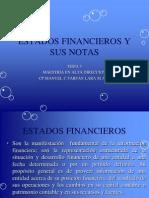 Tema 5 Estados Financieros y Sus Notas