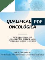 Programação - qualificação oncológica