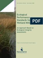 EPA EcolStdrds WetlandMitigation MainReport