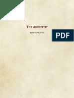 +++Wizard_Tradition_Archivist