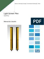 WEG Light Screen Plex Manual Do Usuario Manual Portugues Br