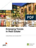 Pwc Emerging Trends in Real Estate 2019
