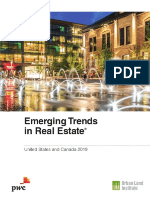 Pwc Emerging Trends in Real Estate 2019 | Investing