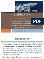 Flag State Control Inspection