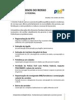 Compromissos ROSSO 2019