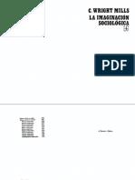 Wright Mills  La imaginación sociológica.pdf