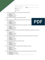 Cuestionario Planeación Financiera en PyMEs